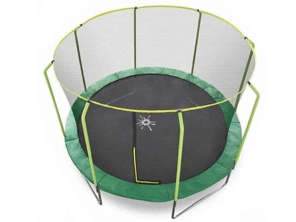 8ft trampoline with enclosure safety net, steel frame plus UV jump mat